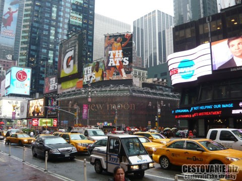 New York Manhattan Broadway